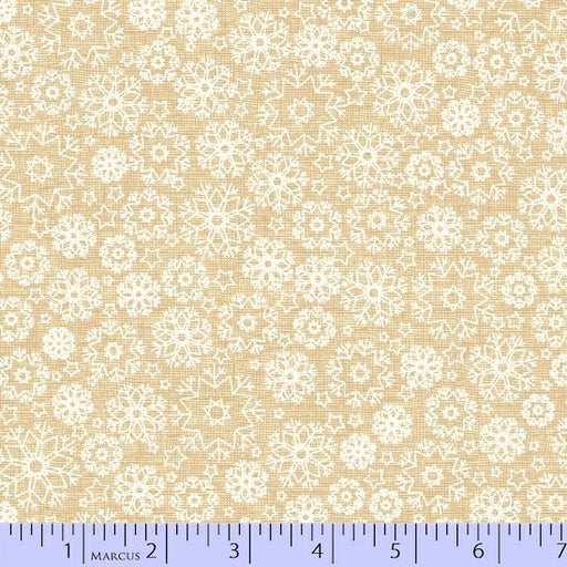 Wrapped In Joy Snowflakes 2790-0166 Cream