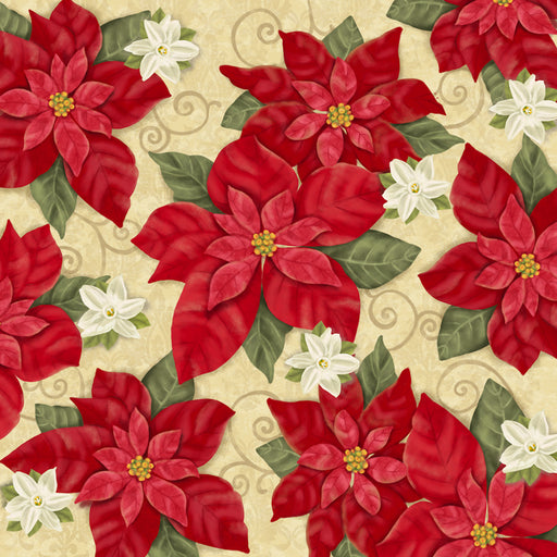 Winter Bliss - Poinsettia 3245-44 Cream