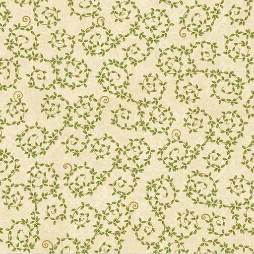 Winter Bliss - Leaf Vine 3247-44 Cream