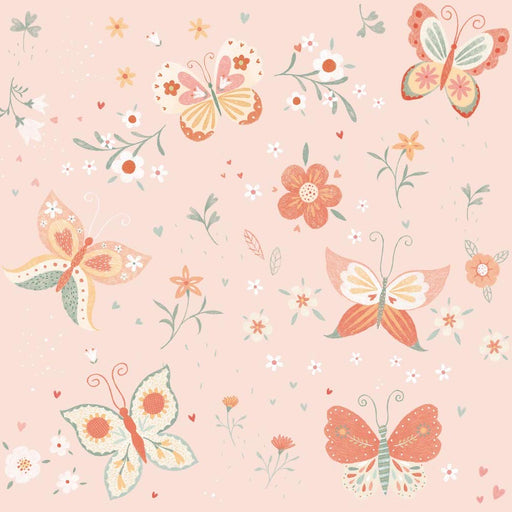 Bunny Tales Butterfly 3553-22 Pink