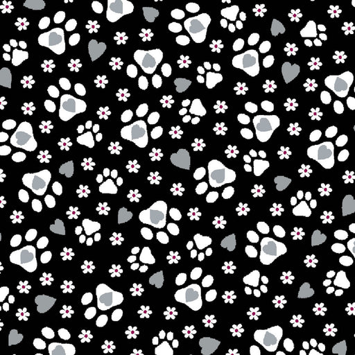 Cattitude - Cat Prints 4067-99 Black