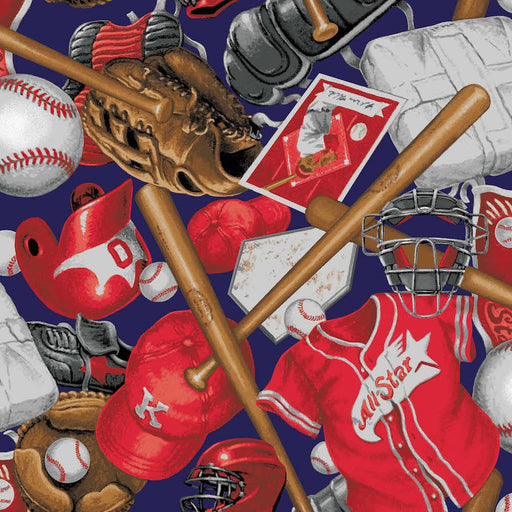 Batter Up! Baseball Accessories 8015-88 Red