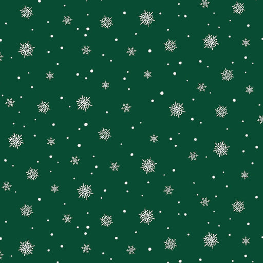 A Christmas To Remember Snowflake 8161-66 Green