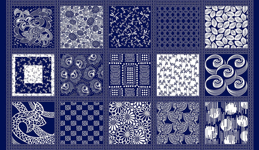 Avalon Blocks 8197-77 Navy