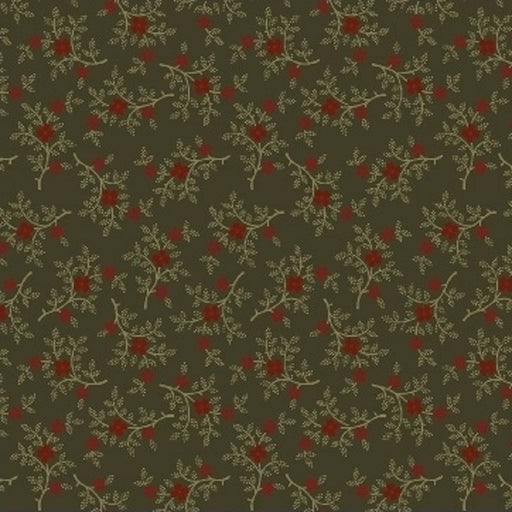 Pieceful Pines - Berry Sprig 8208-114 Green