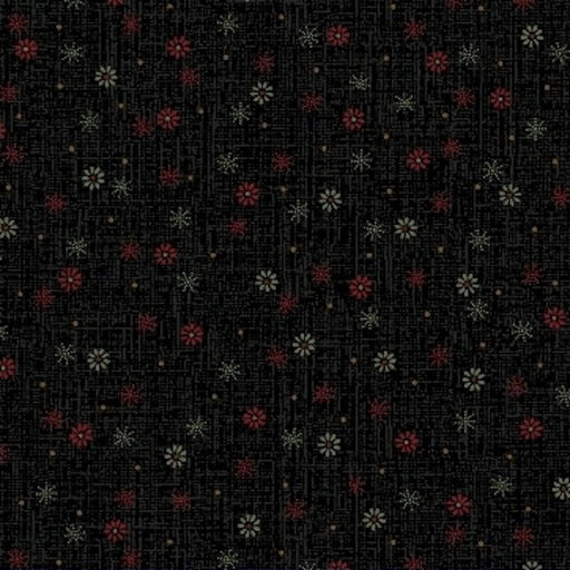 Pieceful Pines - Snowfall 8211-112 Black