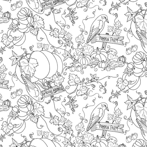 Coloring on Fabric — First Trend Fabrics