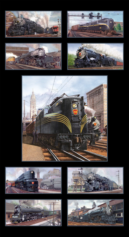 All Aboard Panel 8500-Black