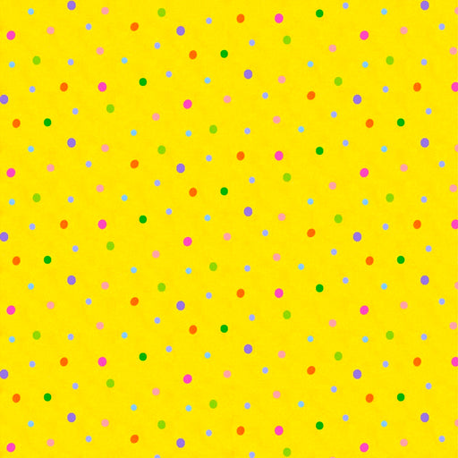 Rhyme Time Dots 8691-44 Yellow