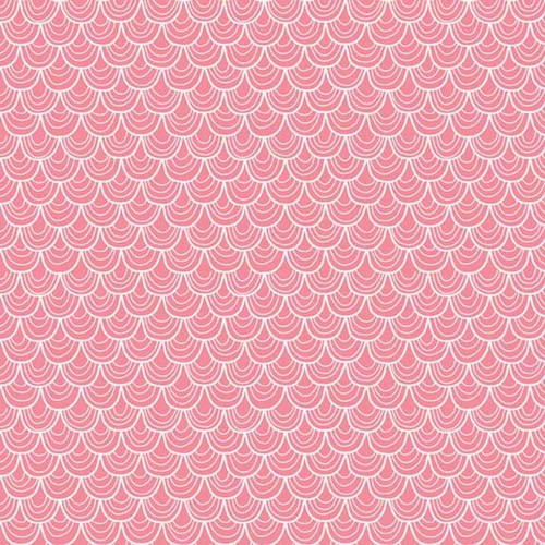 A Merry Little Christmas Scallop C3372-Pink