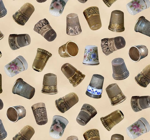 A Stitch In Time Thimbles 402-Cream