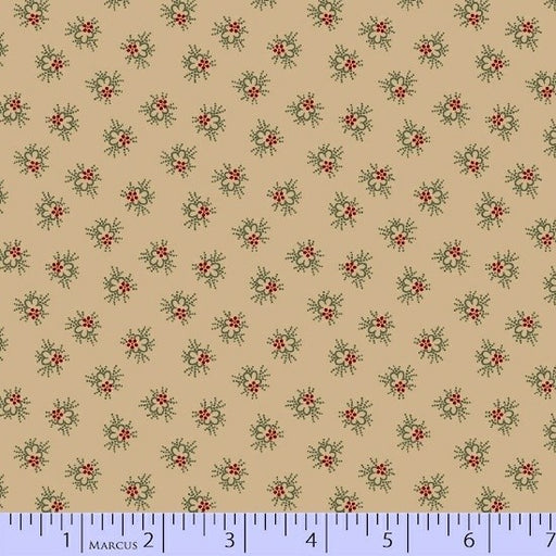 Antique Cotton Circle Flower 1742-0142