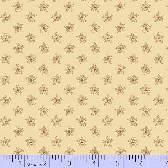 Antique Cotton Stars 1735-0142