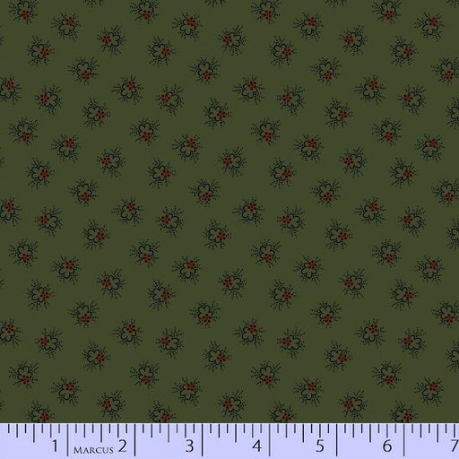 Antique Cotton Circle Flower 1742-0114