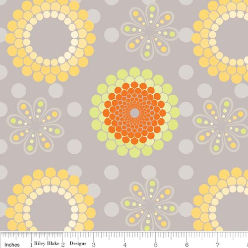Ashbury Heights Floral C3341-Gray
