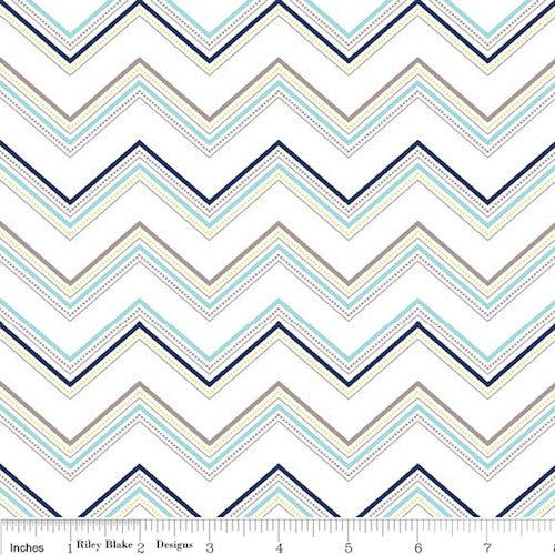 Ashbury Heights Chevron C3345-Blue