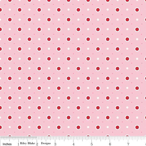 Bake Sale Dots C3435-Pink