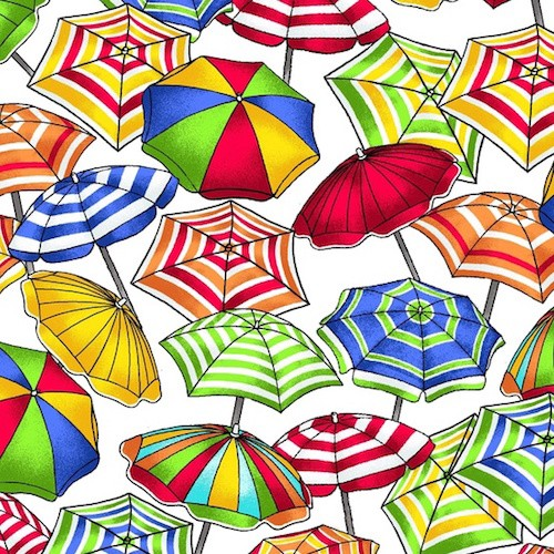 Beach Party Umbrella 7166-07 Multi