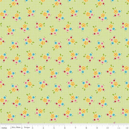 Bloom & Bliss Floral C4582-Green