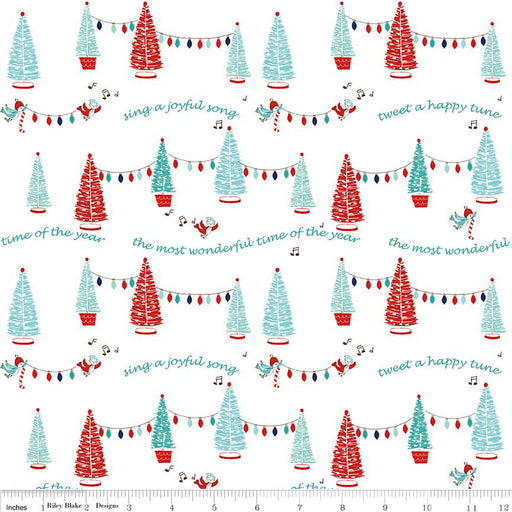Pixie Noel Trees C5251-White
