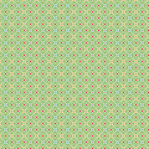 Cozy Christmas - Wrapping Paper C-5367 Green