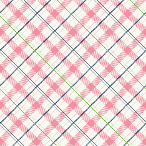 Enchanted Plaid C5684 Pink