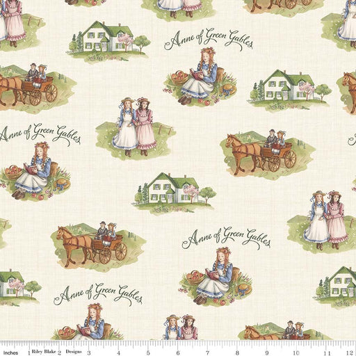 Anne Of Green Gables Main C5860-Cream