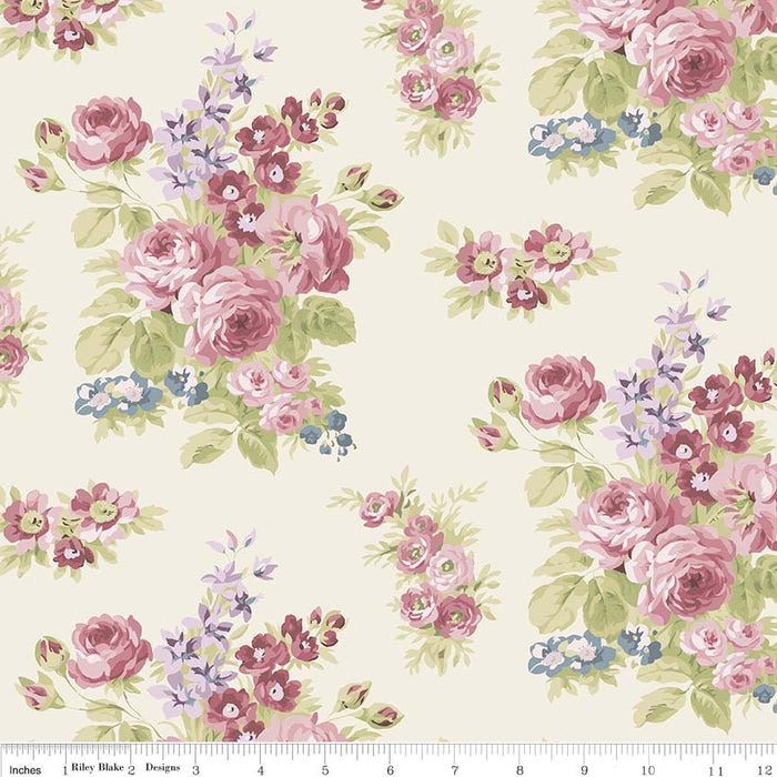 Anne Of Green Gables Floral C5861-Cream