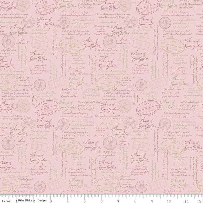 Anne Of Green Gables Quotes C5864-Pink
