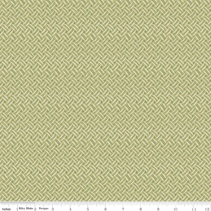 Anne Of Green Gables Weave C5867-Green