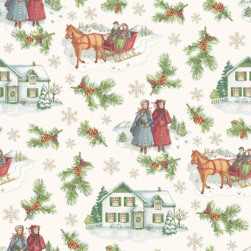 Anne of Green Gables Christmas - Main C-6490 Beige