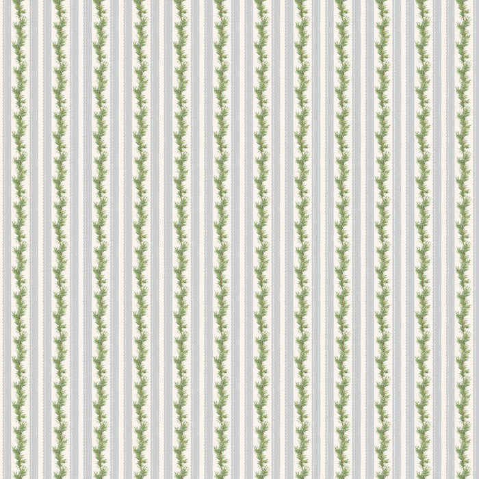 Anne of Green Gables Christmas - Stripe C-6494 Gray