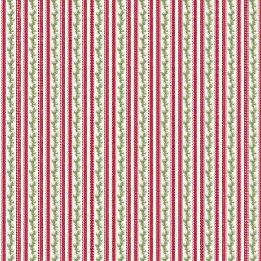 Anne of Green Gables Christmas - Stripe C-6494 Red