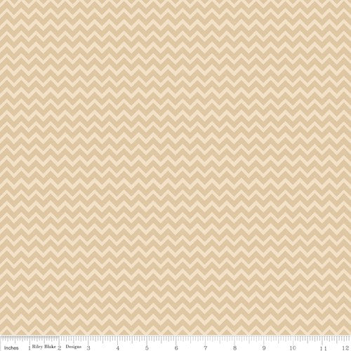 Camp-A-Lot Chevron C3505-Cream