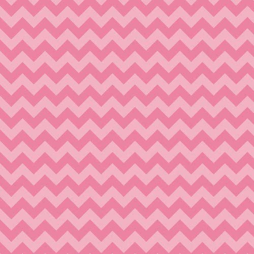 Cotton Chevron Small C400-071 Hot Pink