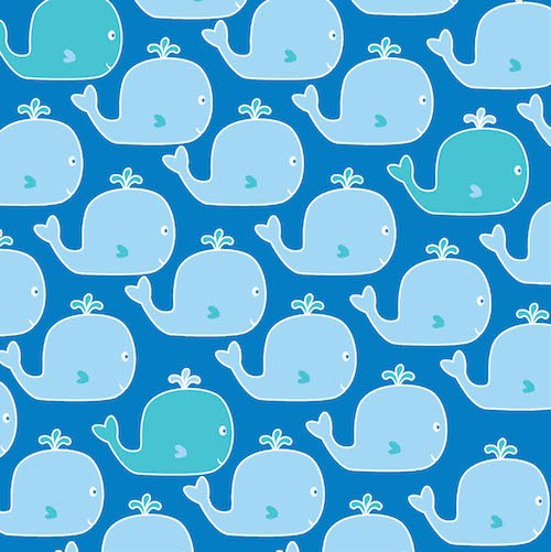 Count with Me Whales 3108-77 Royal