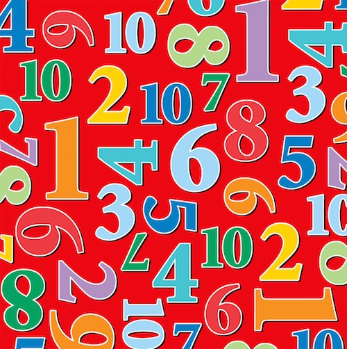 Count with Me Numbers 3107-88 Red
