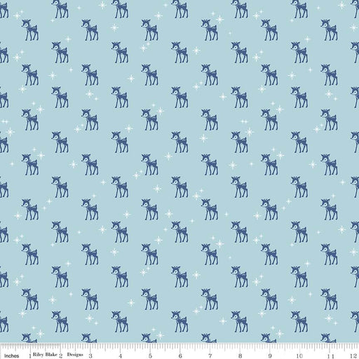 Cozy Christmas Reindeer C5364-Blue