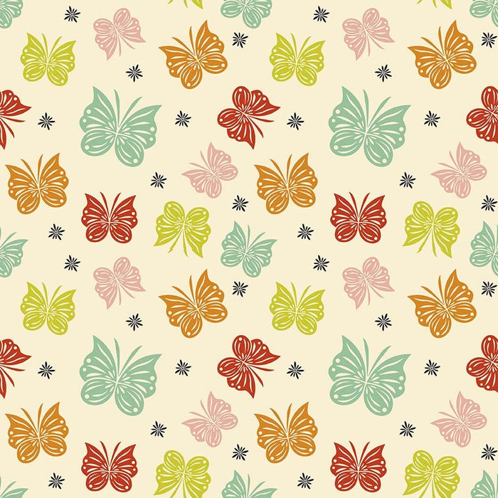 Acorn Valley Flannel Flutter F5322-Multi