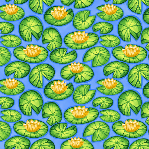 Froggin' Around Lily Pads 7400-77 Blue
