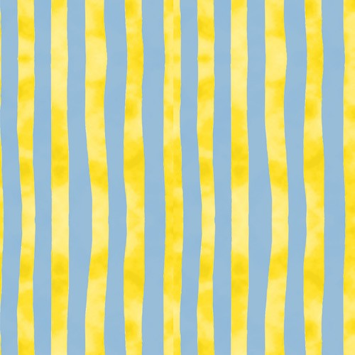 Froggin' Around Stripes 7396-11 Yellow