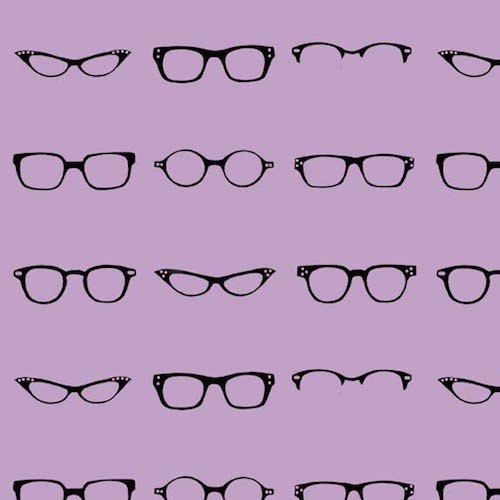 Geekly Chic Glasses C512-04 Lavender