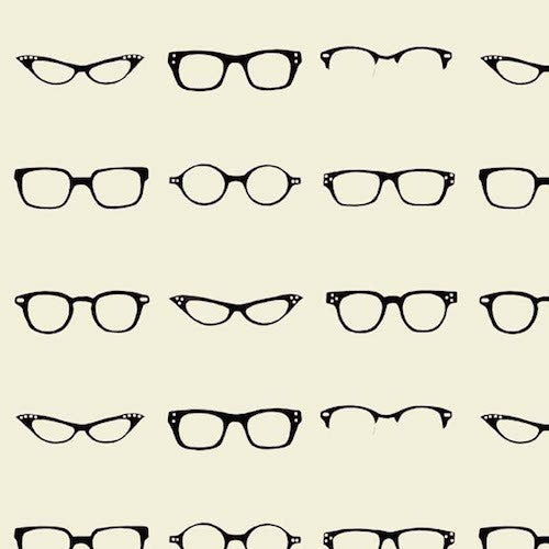 Geekly Chic Glasses C512-03 Off White