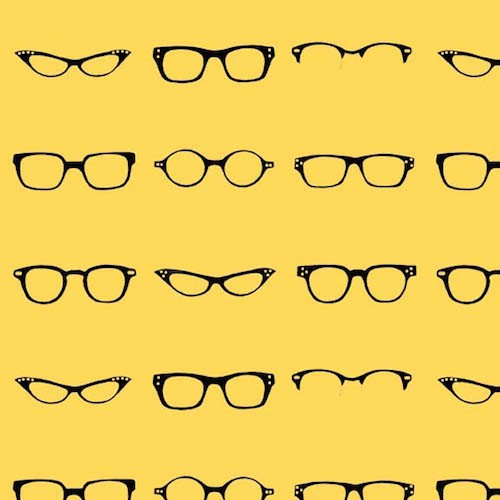 Geekly Chic Glasses C512-02 Yellow
