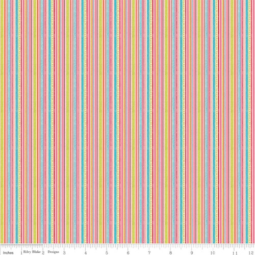 Happy Flappers Stripe C4025-Pink