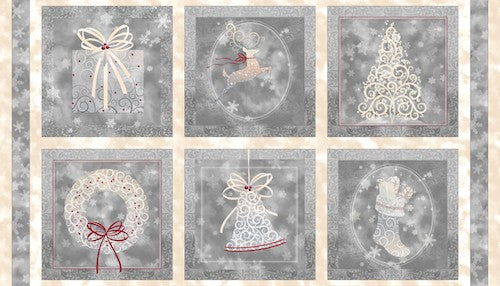 Holiday Elegance Patches 23877-K Pewter