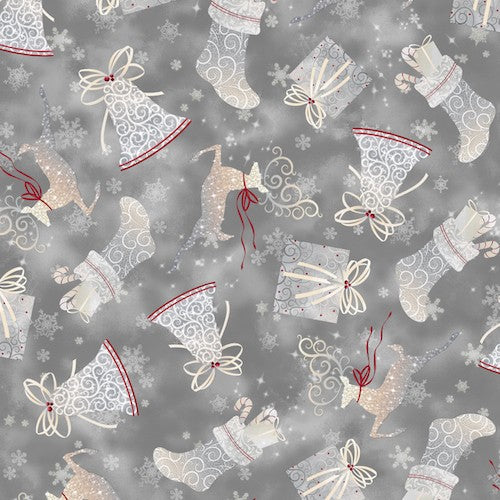 Holiday Elegance Toss 23878-K Pewter