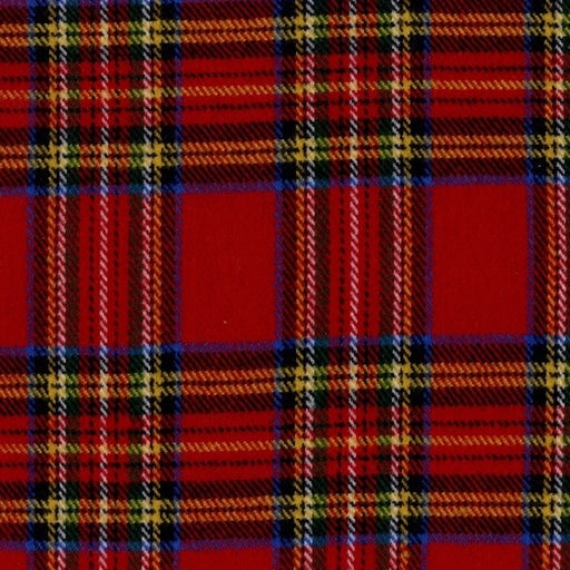 R09 Primo Plaid Flannels: Classic Tartans J373-111 Red