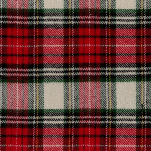 R09 Primo Plaid Flannels: Classic Tartans J374-142 Red