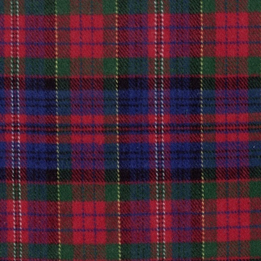R09 Primo Plaid Flannels: Classic Tartans J376-111 Red